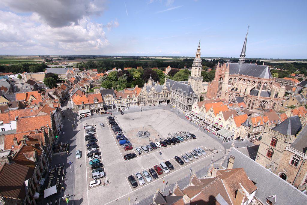 Der Grote Markt von Veurne