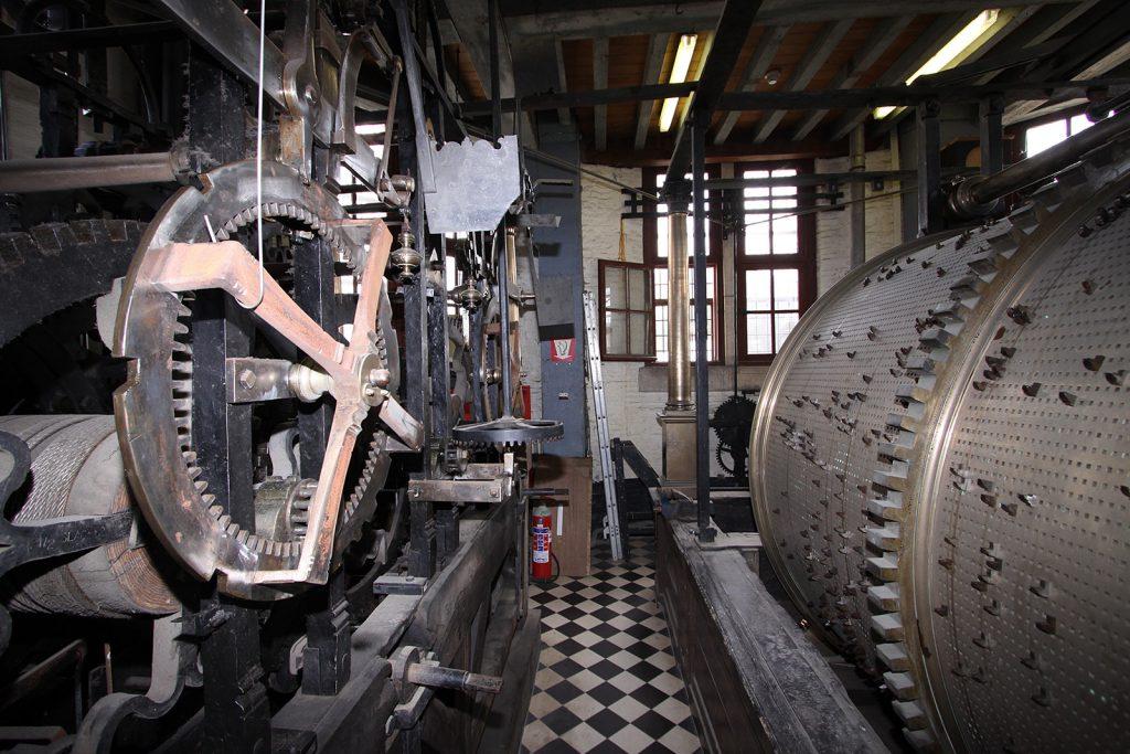 Läutwerk eines Carillons