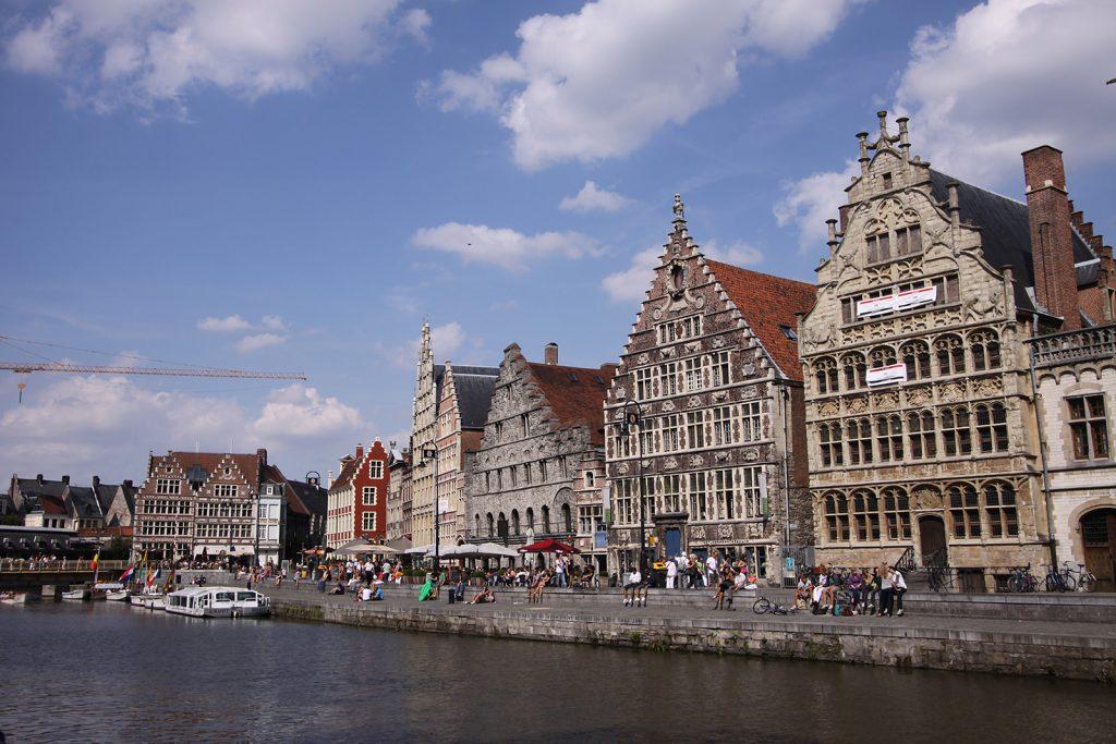 Im Zentrum von Gent