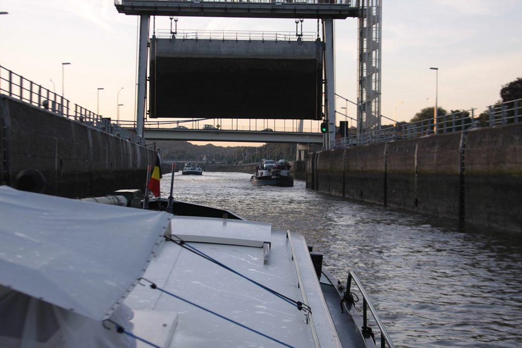 Die Fahrt nach Antwerpen kann beginnen