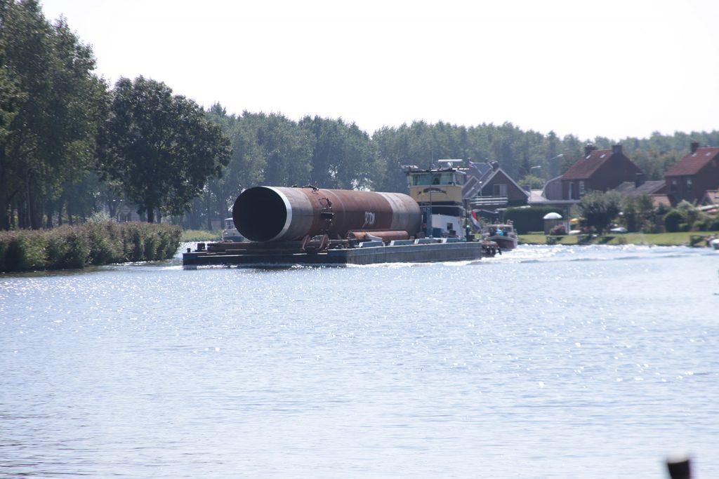 Spezialtransport zu Wasser