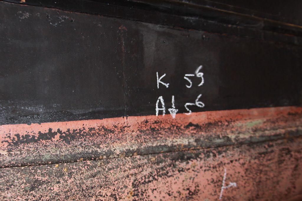 Rumpfdicke zwischen 5.9 und 5.6 mm