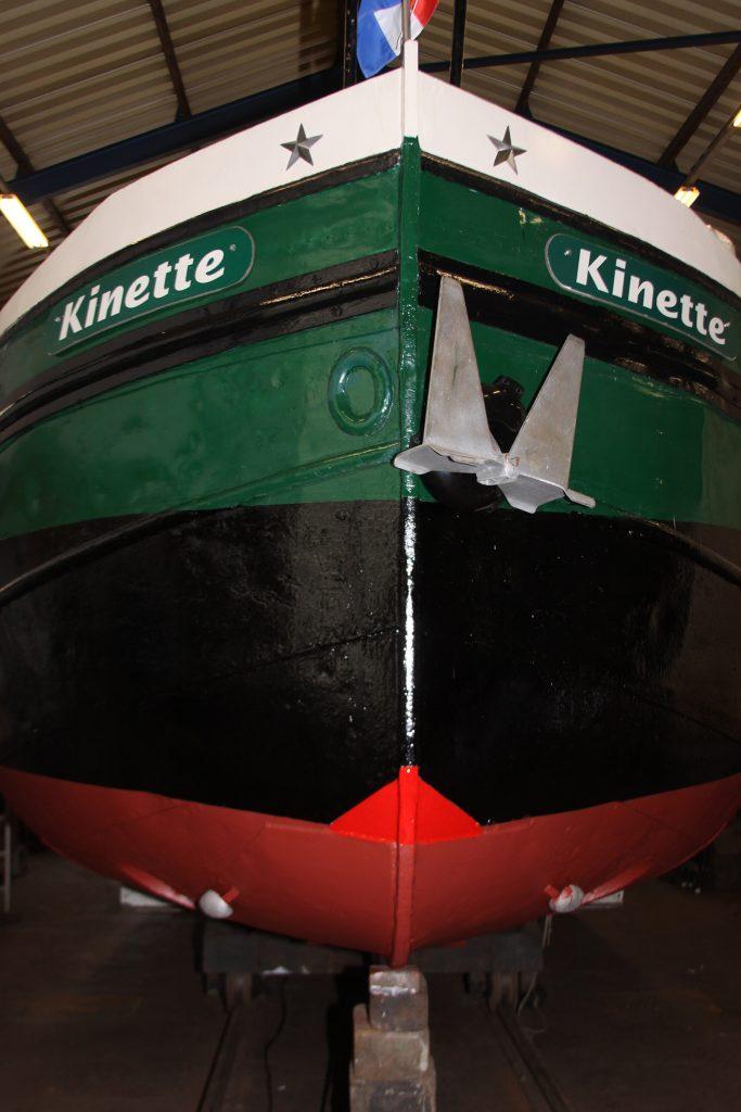 «So sieht doch Kinette viel schiffiger aus!»