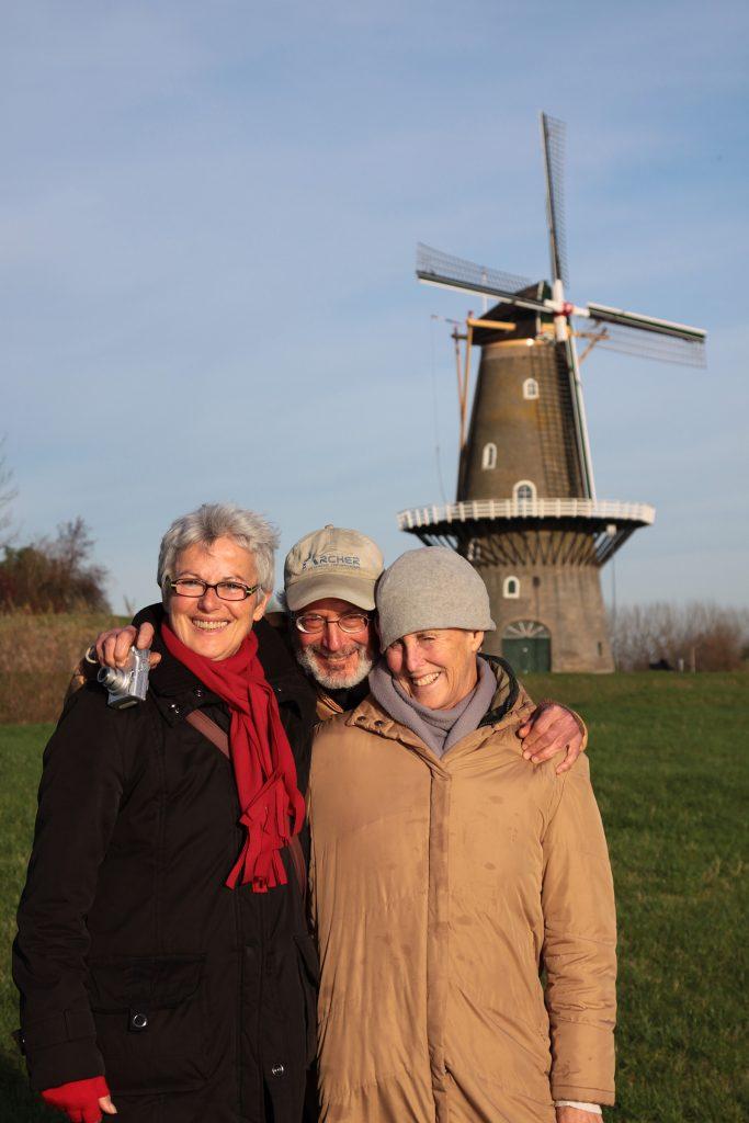 Unsere Roanner Nachbarn Karen und Barry von der MS Eleonore