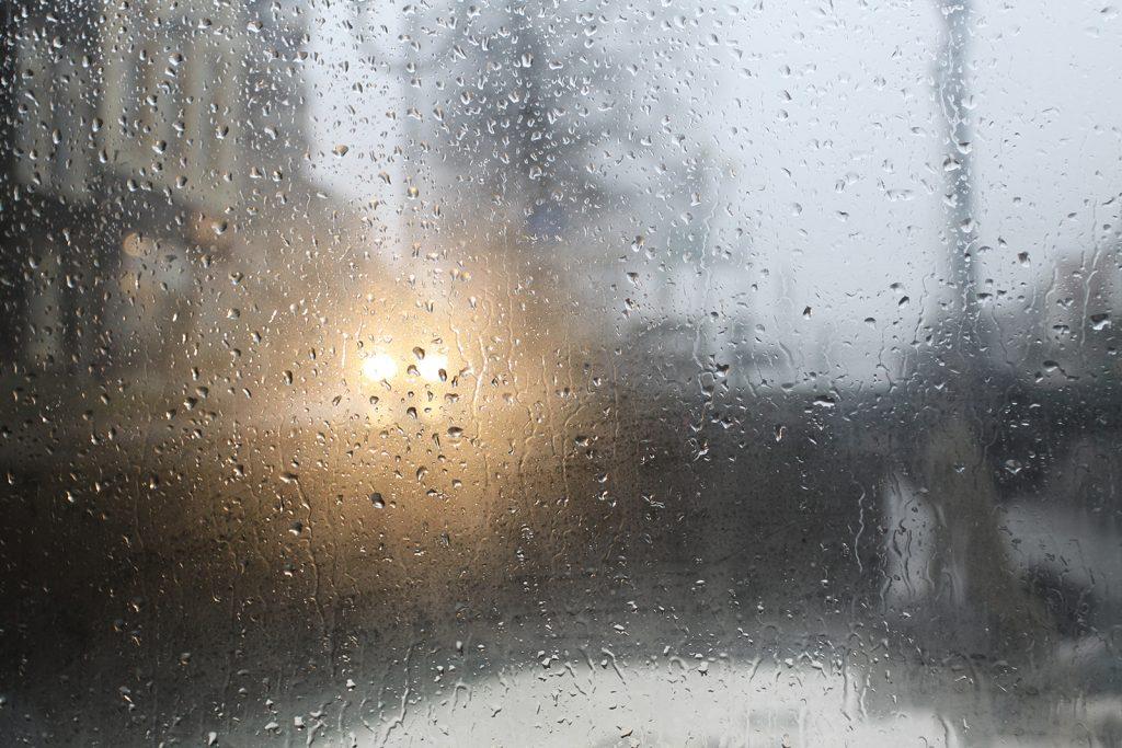 Mal regnet es mehr, mal regnet es weniger...