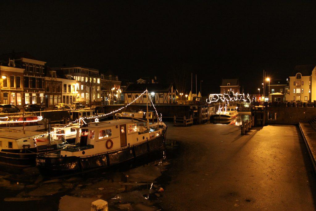 Weihnachtsstimmung im Hafen