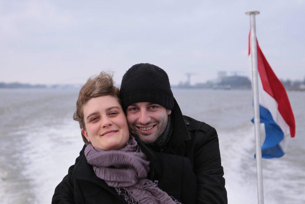 Kilian mit Freundin Simone
