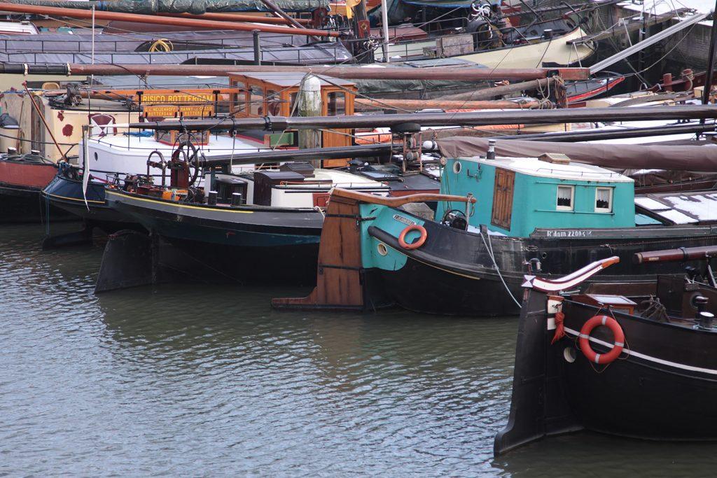 Historische Schiffe in Rotterdam