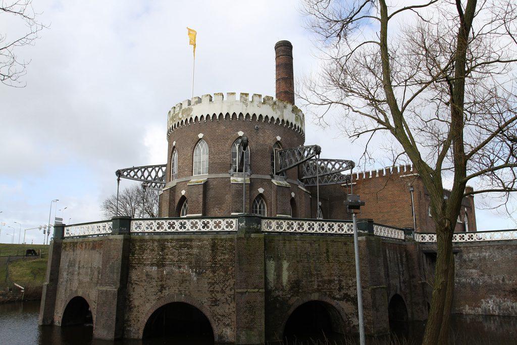 Die alte Dampfpumpe von Cruquius