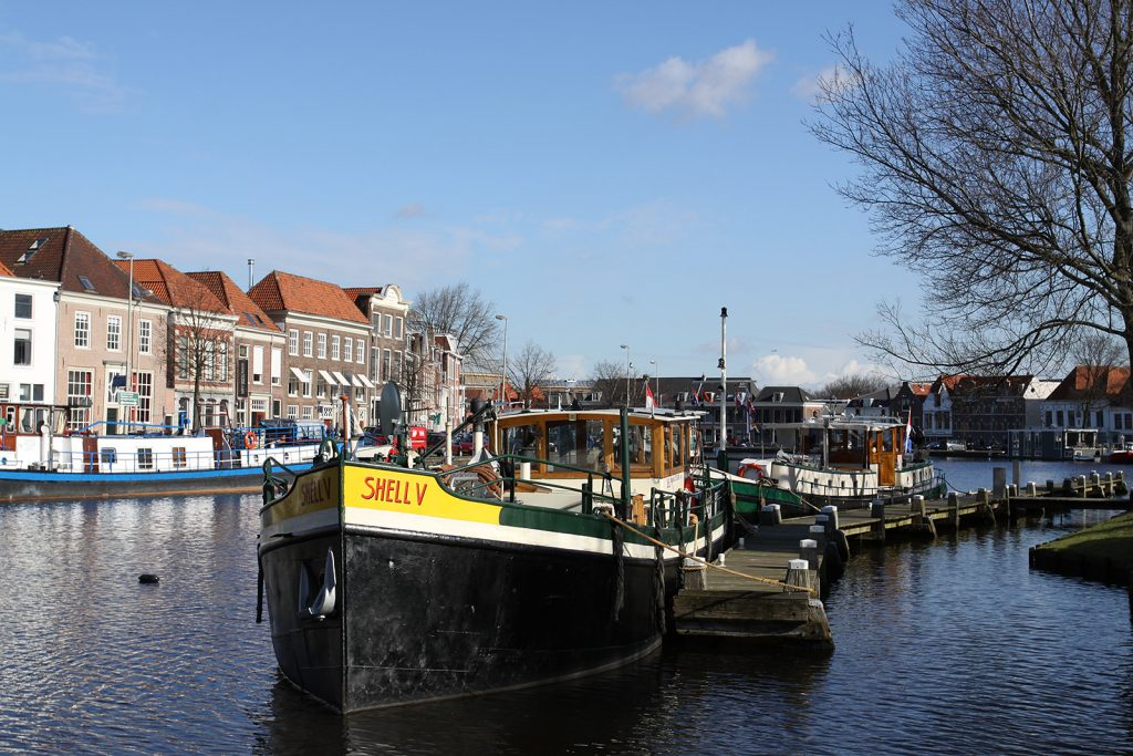 Unser Liegeplatz in Haarlem