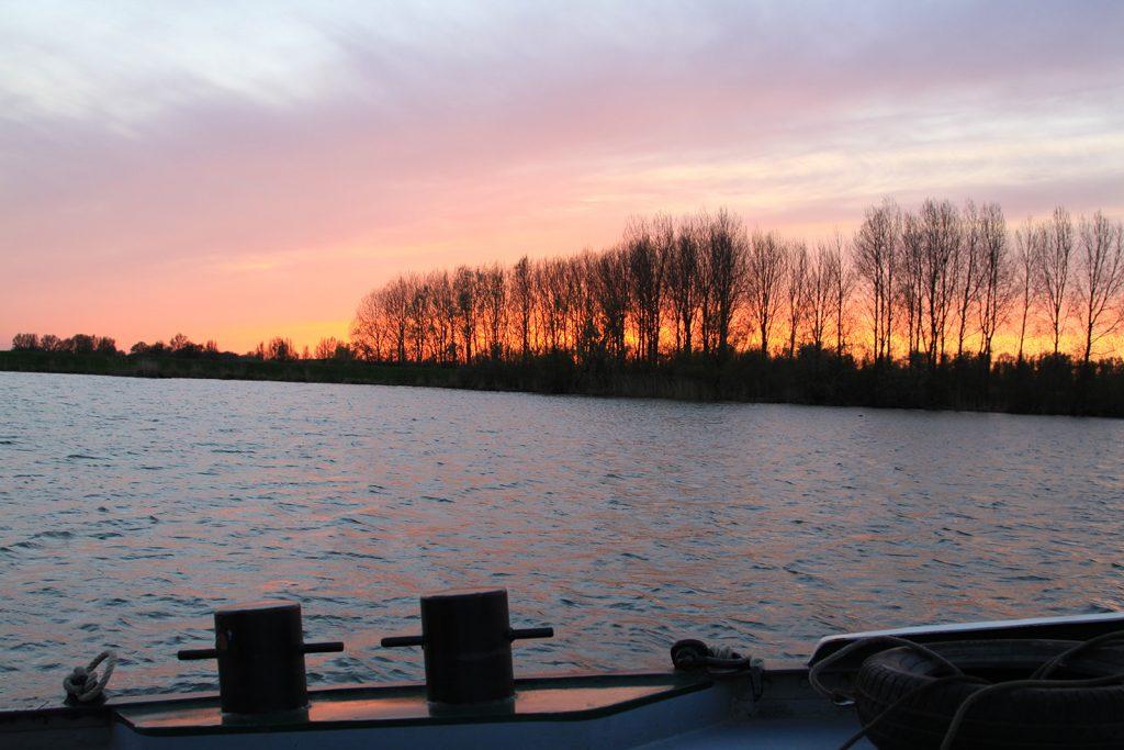 Im Biesbosch vor Anker
