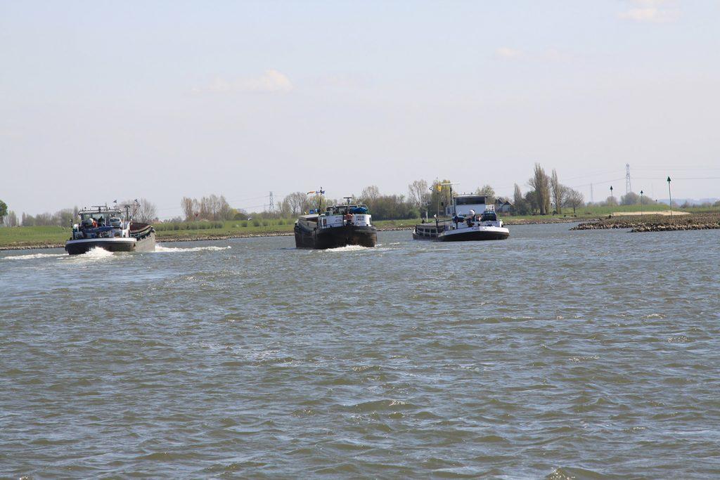Viel Verkehr am IJsselkopf