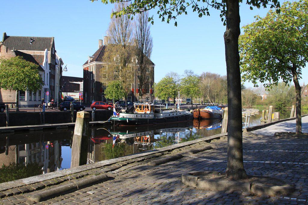 In der Innenstadt von Zwolle
