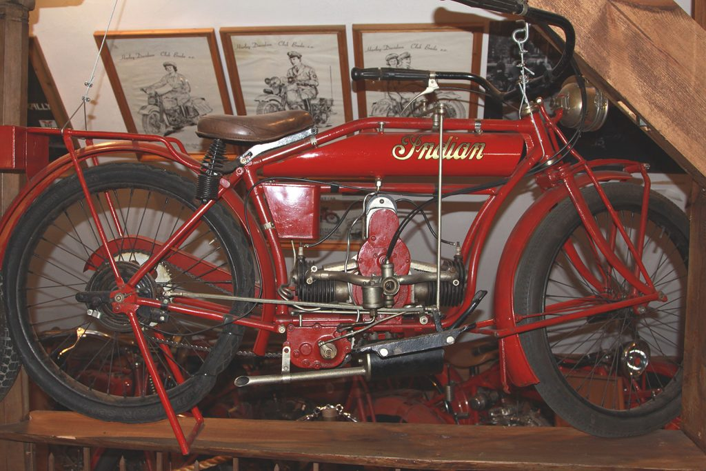 Motorradmuseum bei Zwolle