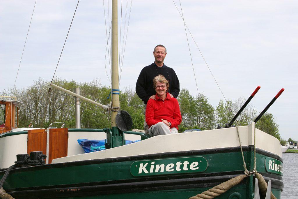 Die erste Fahrt im Mai 2005