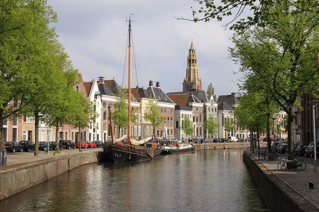 Liegeplatz in Groningen