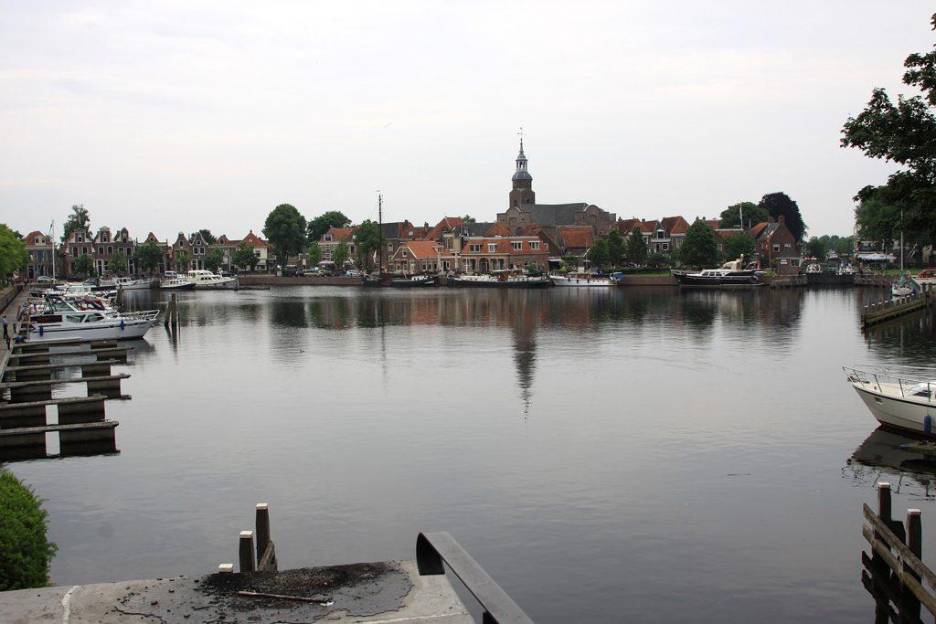 Das Hafenbecken von Blokzijl