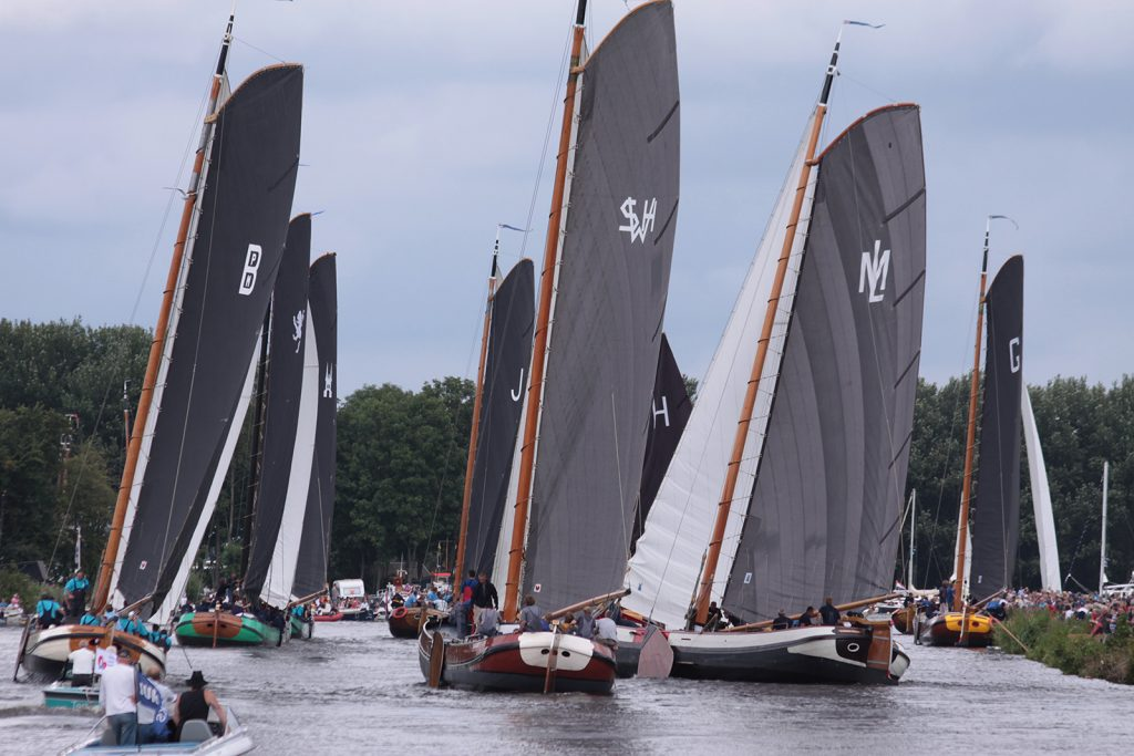 Start zur Regatta