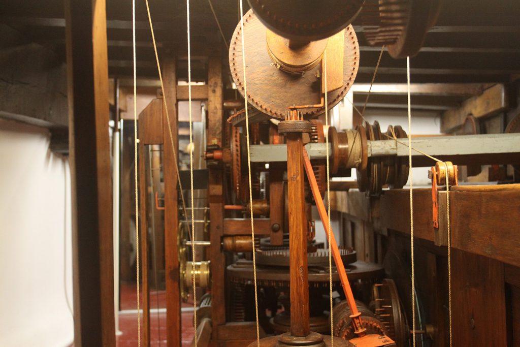 Antriebsmechanismus des Planetariums von Eise Eisinga