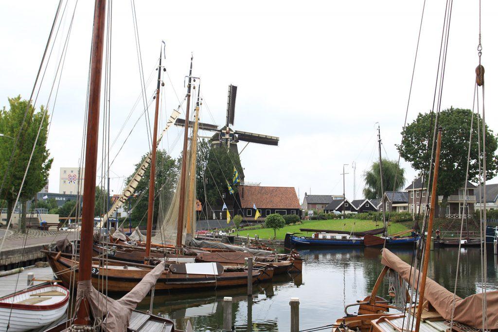 Harderwijk. Der alte Fischerhafen