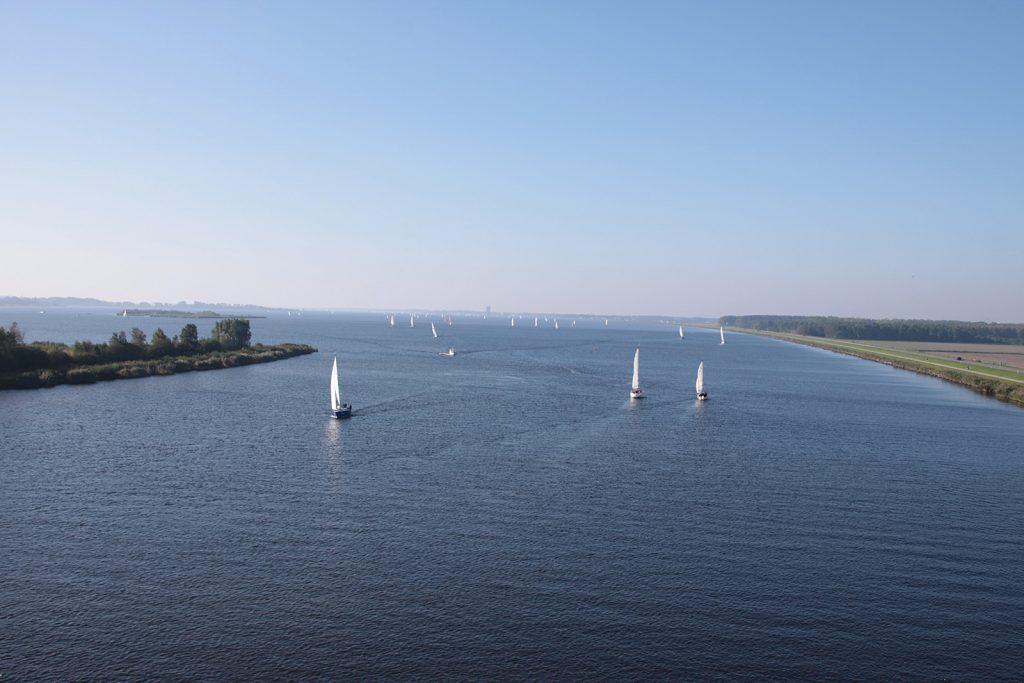 Das Gooimeer, ein Teil der Randmeren
