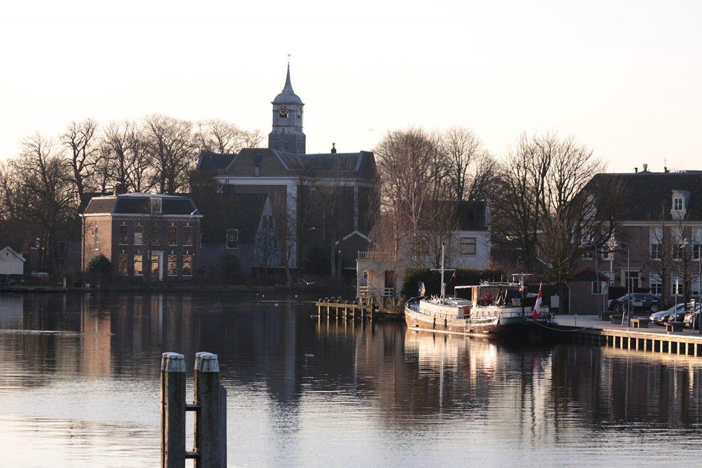 Abendsonne in Ouderkerk aan de Amstel