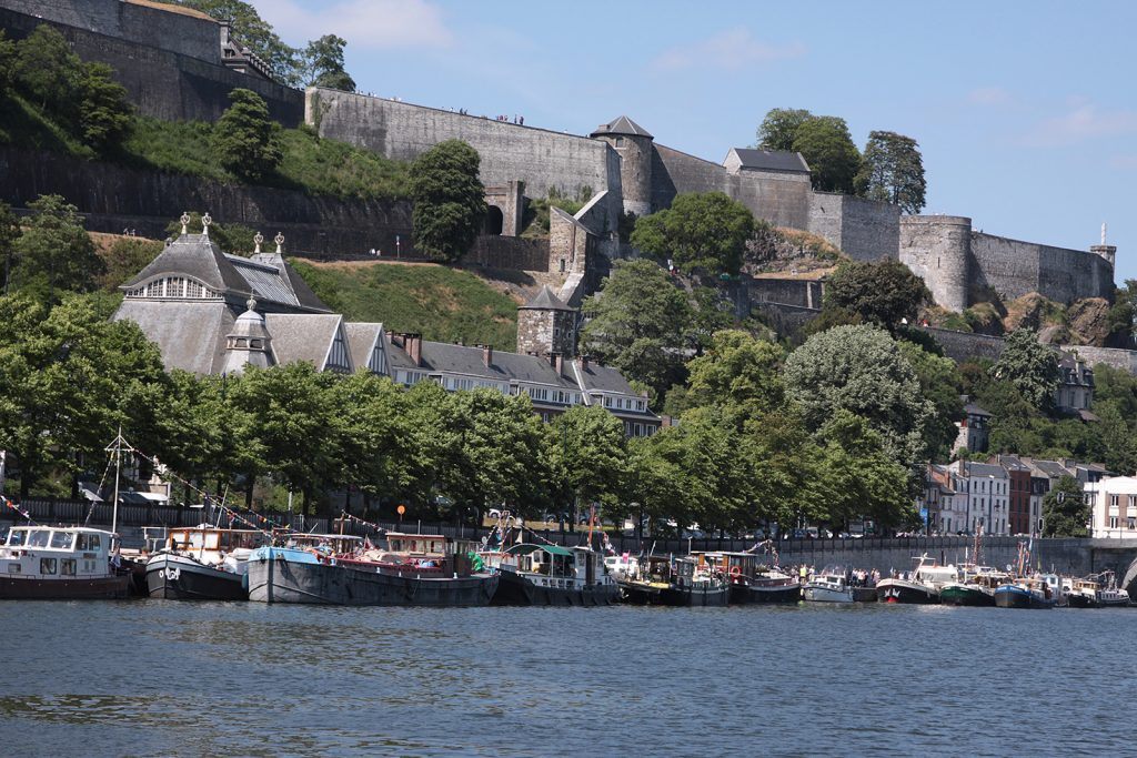 Treffen der Dutch Barge Association im belgischen Namur