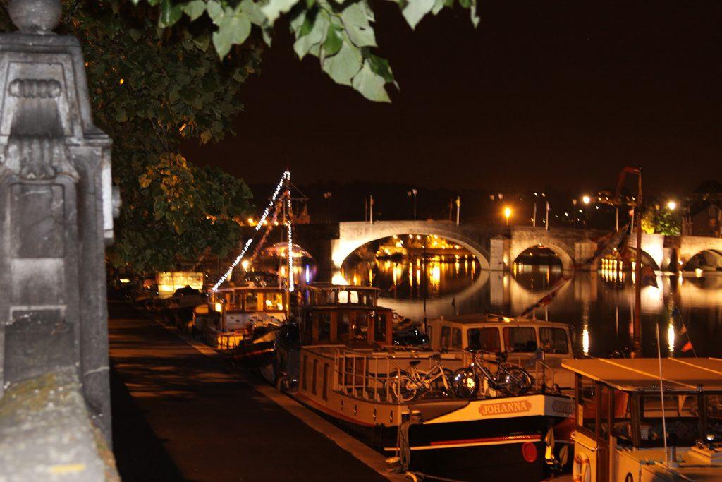 Die DBA-Flotte bei Nacht