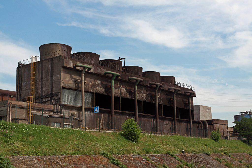 Kohlekraftwerk bei Charleroi