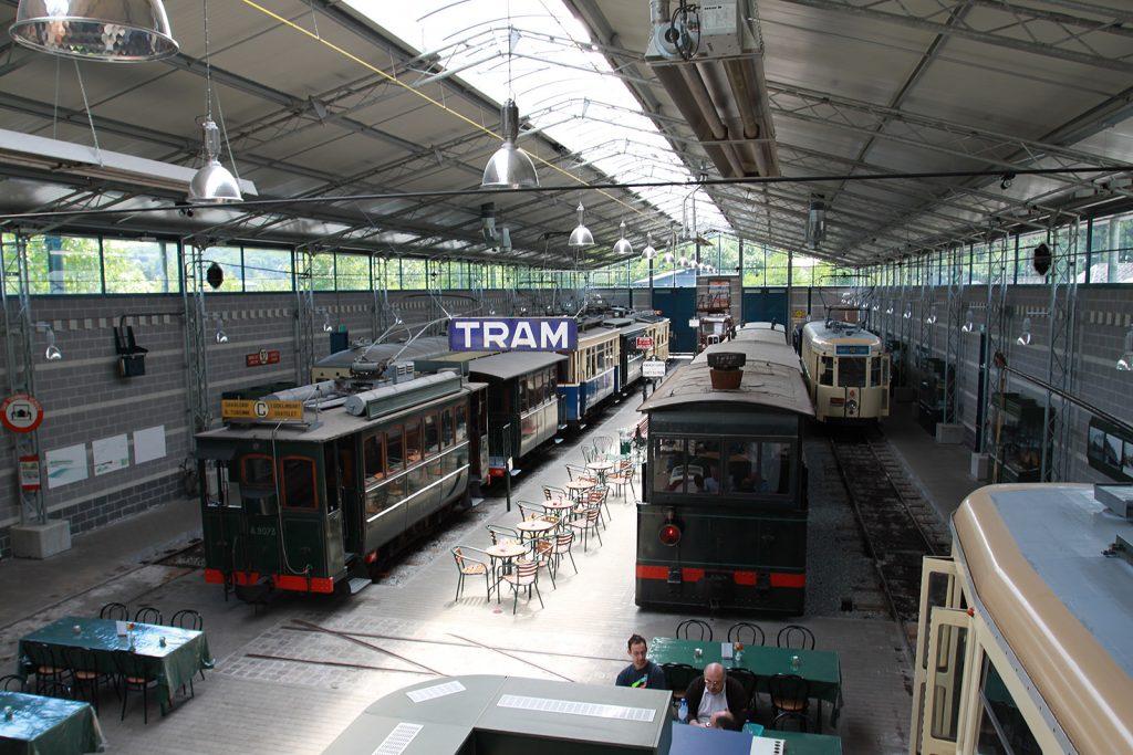 Das Trammuseum von Thuin