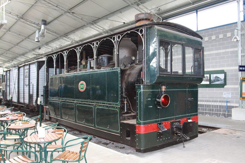 Dampftramlokomotive von 1888