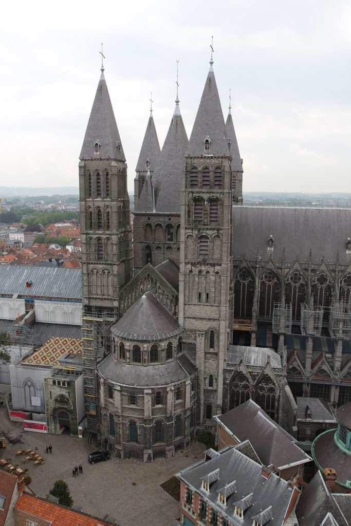 Die fünftürmige Kathedrale von Tournai