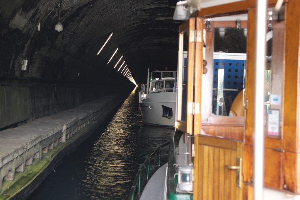 Im Tunnel von Ruyolcourt