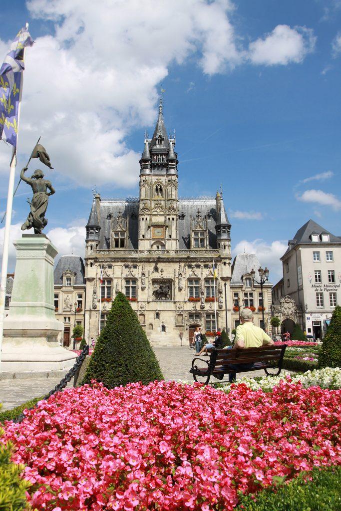 Das Stadthaus von Compiègne