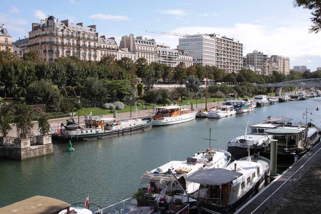 Kinette mitten in Paris: Boulevard de la Bastille