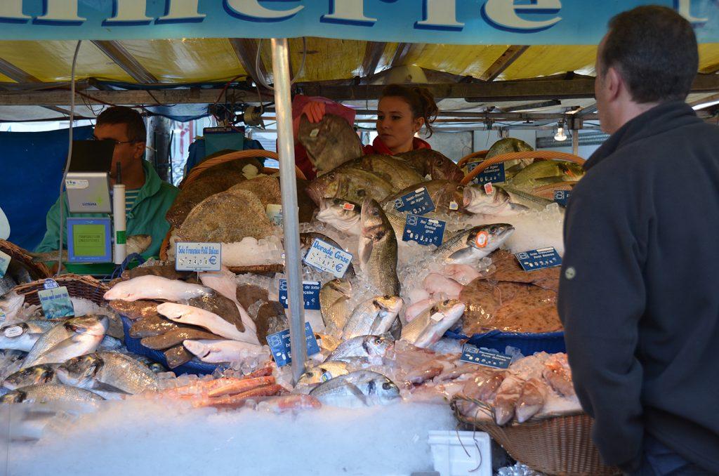 Sonntagsmarkt bei der Place de la Bastille