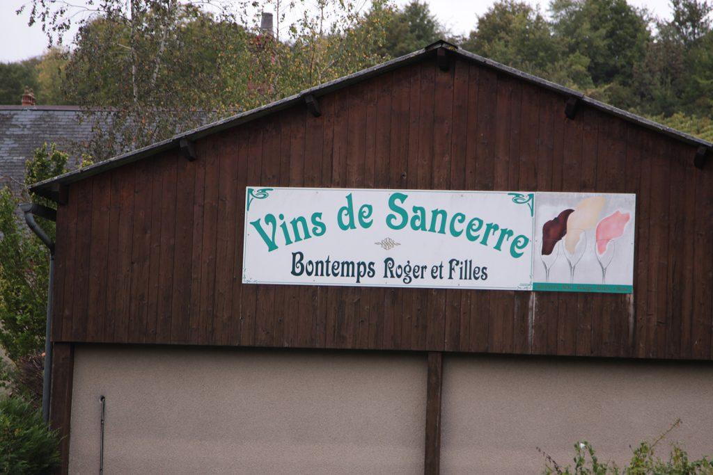 Im Weinbaugebiet von Sancerre