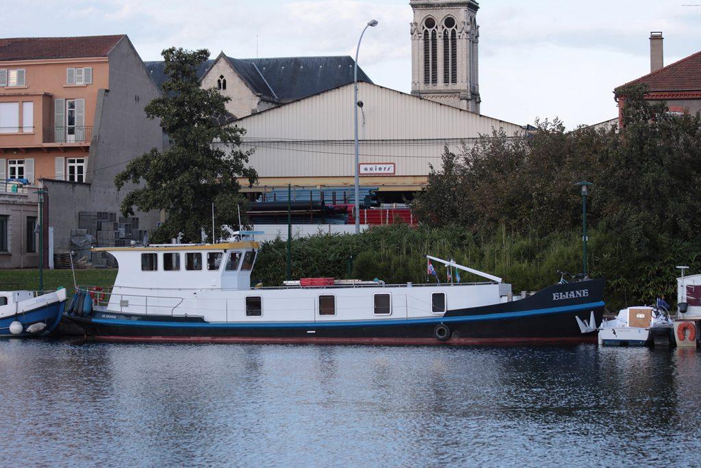 Das Ex-Öl-Bunkerboot «Eliane»
