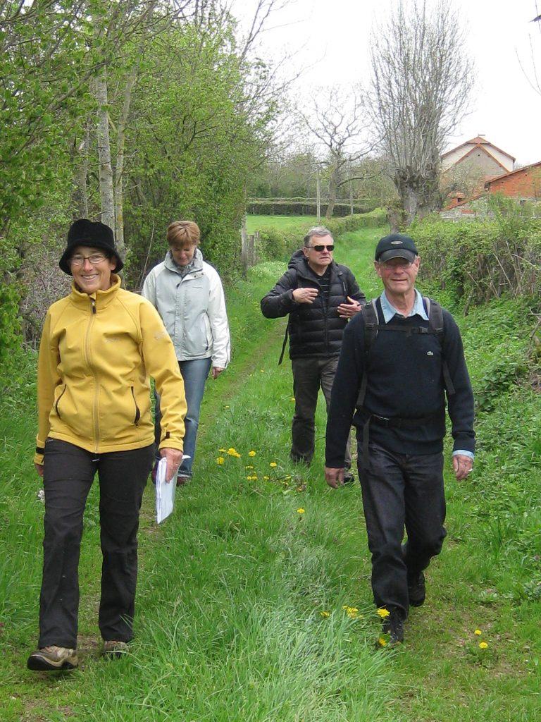 Wandern mit französischen Freunden im Brionnais