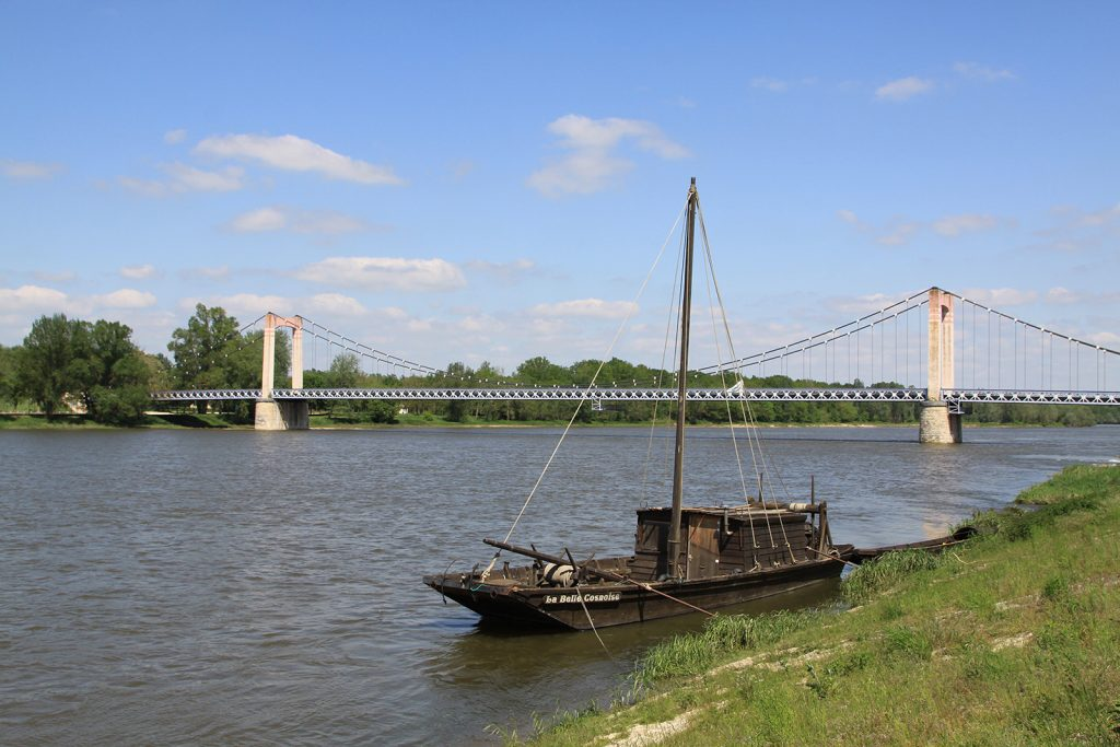 Loirebrücke von Cosne-sur-Loire