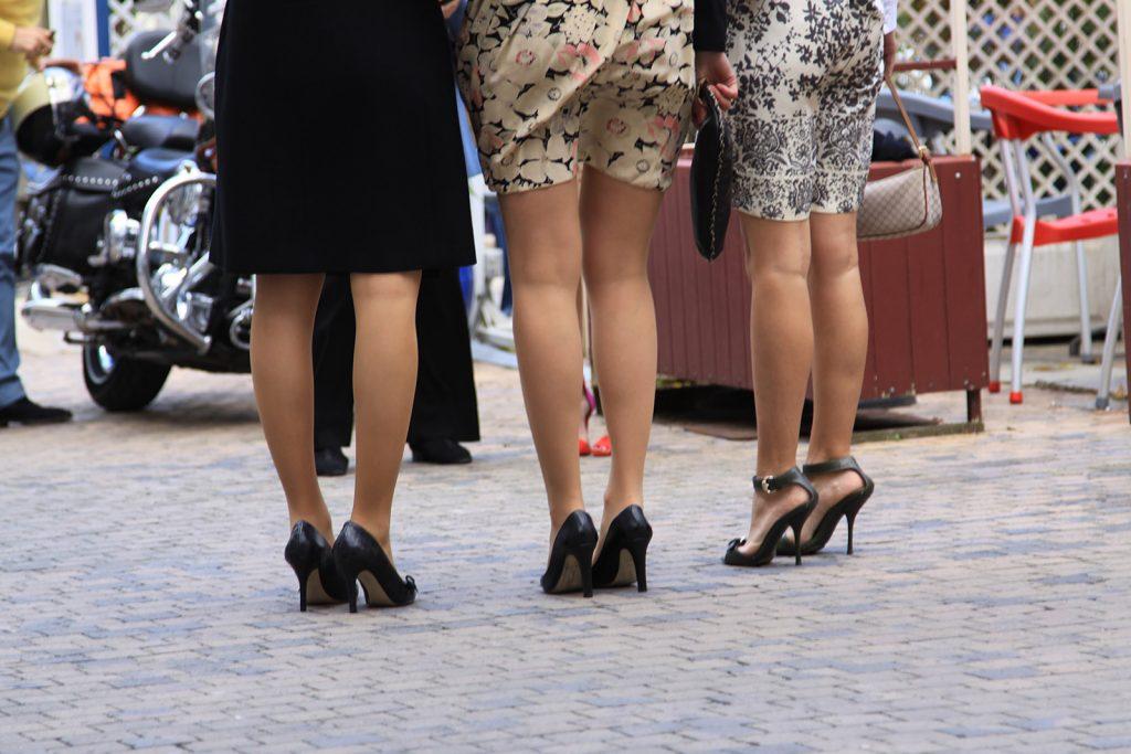 Am Bein sind Strümpfe allerdings deutlich attraktiver