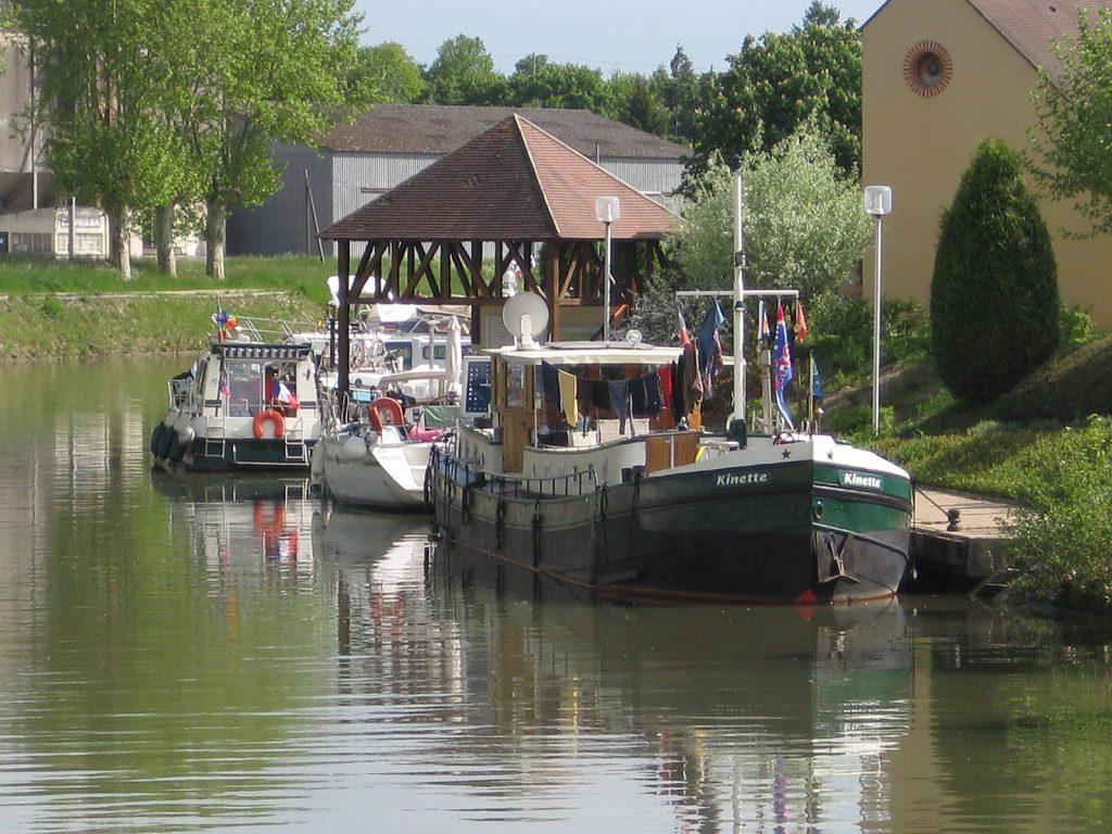 Halte fluviale Châtillon-Coligny