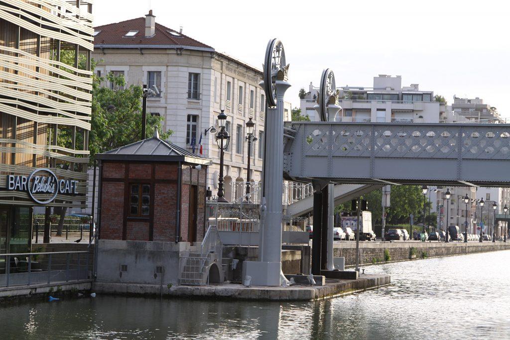 Der «pont de la Crimée»