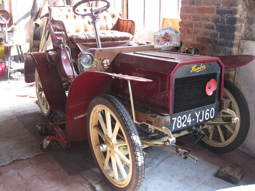 Humber «Humberette» 1904 – 108 Jahre alt und fährt!
