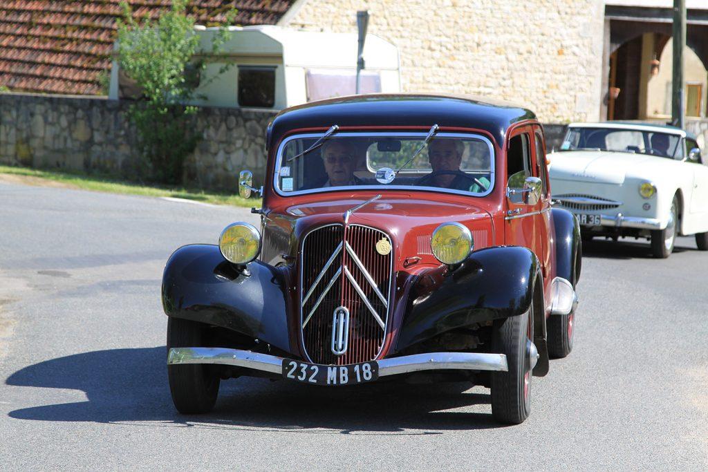 Hier gehören sie hin: Die Citroën-Winkel bei der «Traction avant»