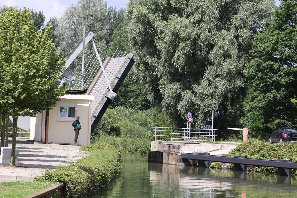Schleusen und Hebebrücken sind in gutem Zustand