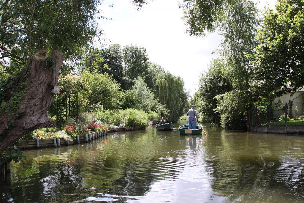 Die «schwimmenden» Gärten von Amiens