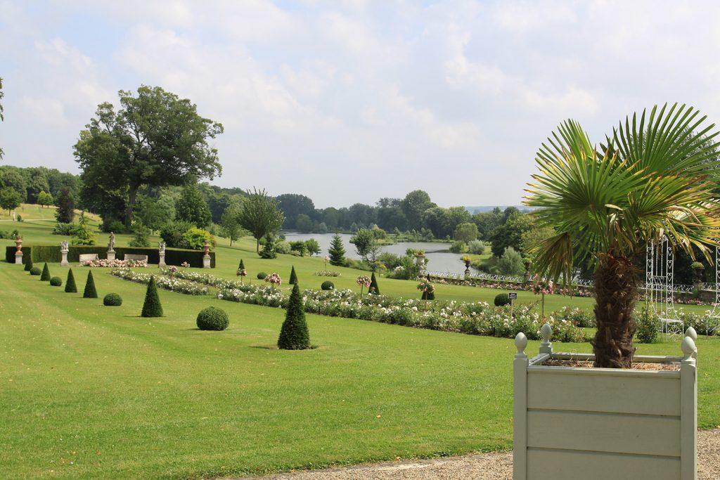 ...und der Schlosspark