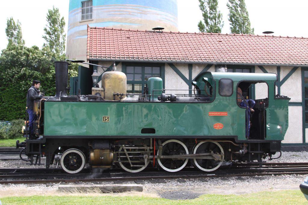 Die 1920 im belgischen Haine-Saint-Pierre gebaute Lok Nr. 1316