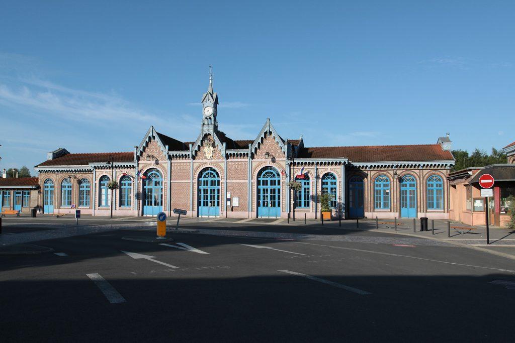 Der Bahnhof von Abbeville